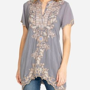 Johnny Was Monark Embroidered Long Tunic